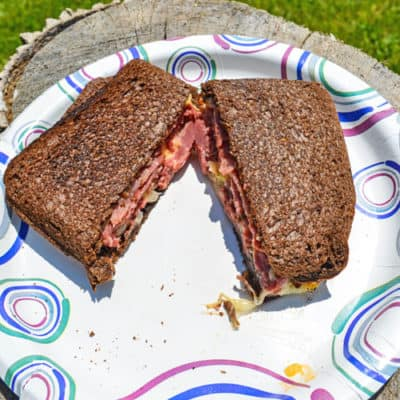 Reuben Inspired Campfire Sandwich Recipe