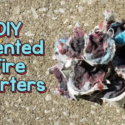 Make Your Own Scented Fire Starter