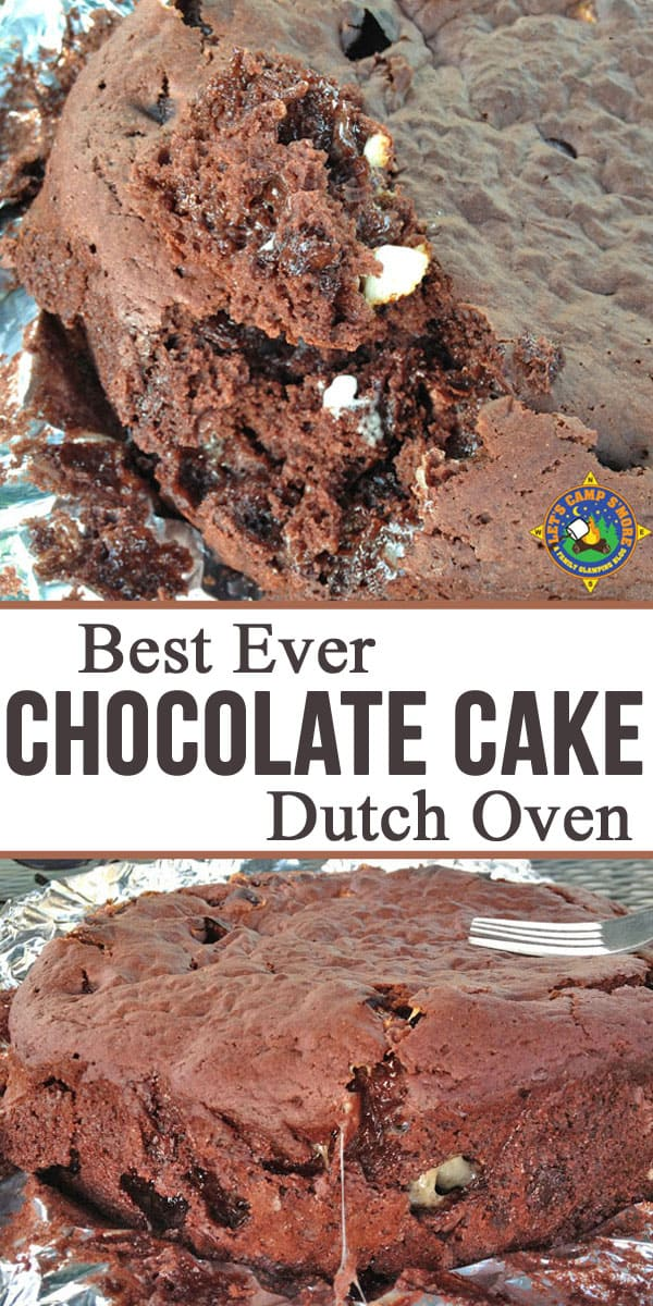 Cake dutch oven recipe