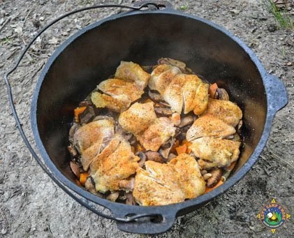 Dutch Oven Chicken and Vegetables