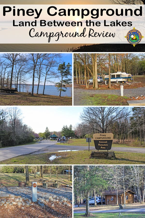 Piney Campground Review - Looking for a place to camp in Tennessee? Try Piney Campground in Northern Tennessee along Kentucky Lake in the Land Between the Lakes National Recreation Area.