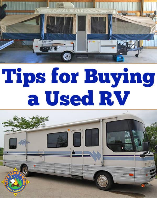 Tips for Buying a Used Trailer or RV - Buying a used trailer soon? Learn how to get a good deal and not get scammed on a recreation vehicle purchase from a private party. The same tips can be used for purchase any vehicle. #purchase #used #trailer #RV