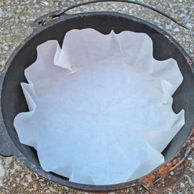 Make Your Own Dutch Oven Liners