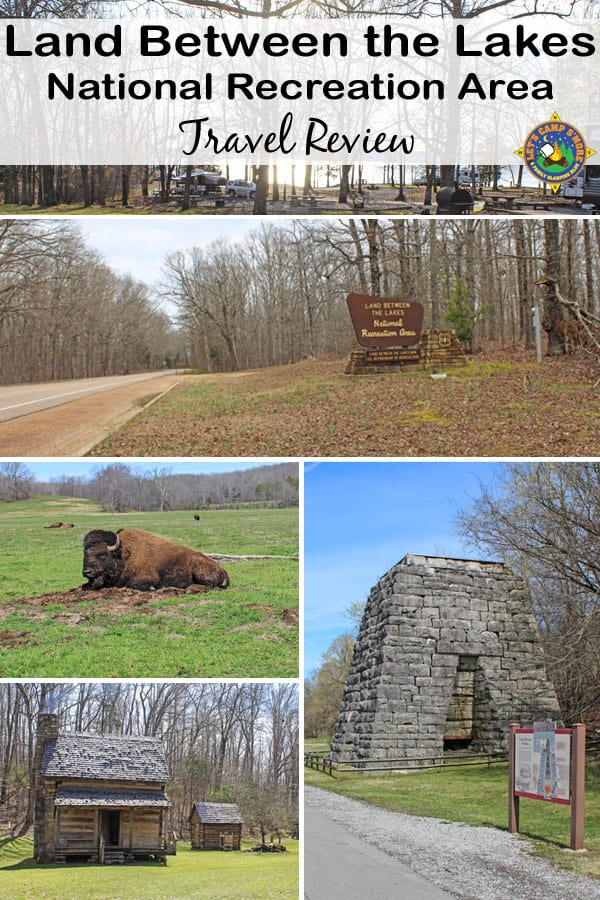 Land Between the Lakes National Recreation Area Travel Review - Love the great outdoors? Visit Land Between the Lakes National Recreation Area in Kentucky & Tennessee. This 170,000-acre park has camping, fishing, off-roading, wildlife, and several attractions. There is a little something for everyone! #travel #madeinTN #travelKY
