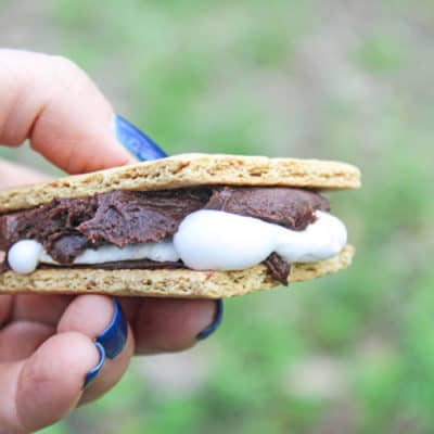 Chocolate Frosting S'mores