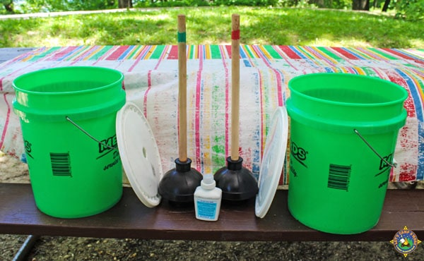 DIY portable washing machine system