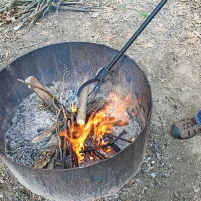 Best Camp Fire Tool with Mod