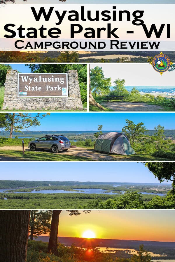 Wyalusing State Park & Campground Review - Looking for a place to camp in SW Wisconsin? The Wisconsin Ridge Campground at Wyalusing State Park near Prairie du Chien is a MUST! The views alone are worth a visit.