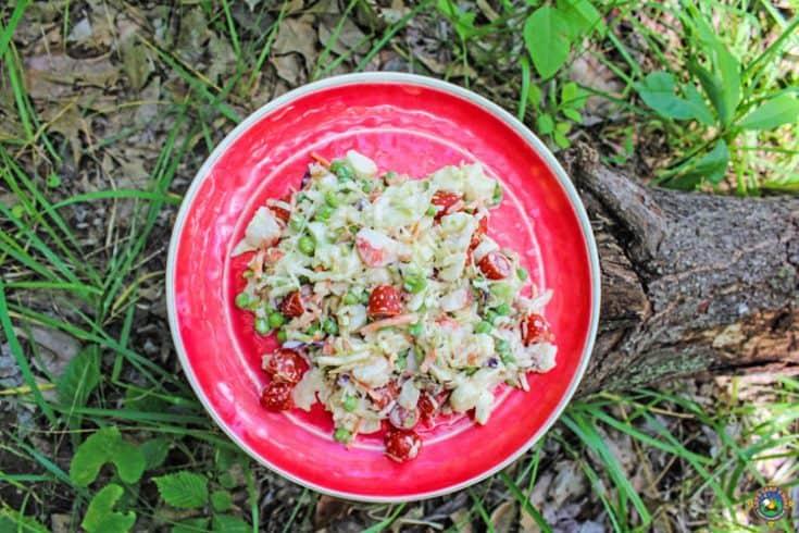 Low Carb Crab Salad
