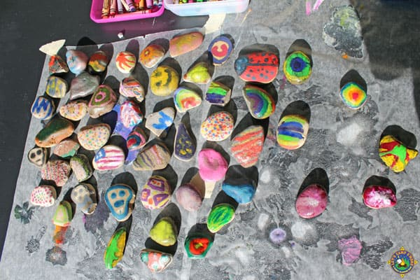 Can You Spray Paint Rocks