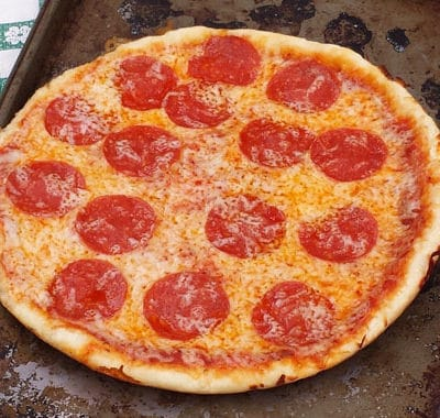Simple Dutch Oven Pizza