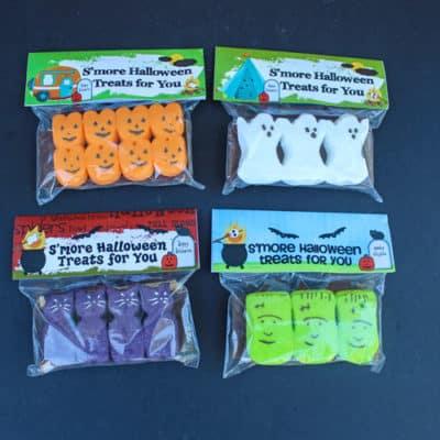 Halloween Peeps S'mores Kit Free Printable