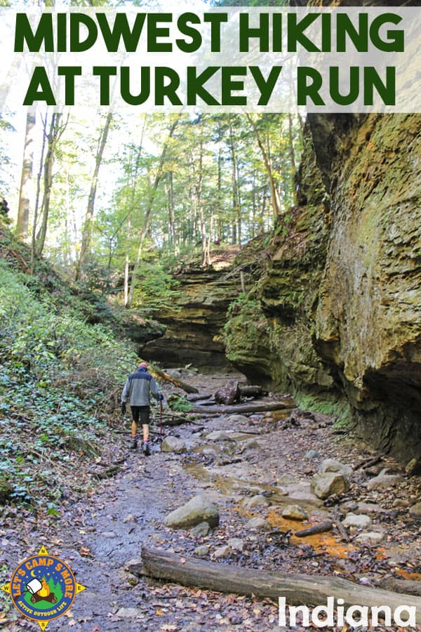 Best Midwest Hiking at Turkey Run State Park in Indiana - Look for great hiking with proximity to Indianapolis or Chicago? Then Turkey Run State Park in west-central Indiana is a must visit. This top hiking destination has deep canyons and lush forests, with trails for beginners to experienced hikers. #hiking #Midwest #Indiana