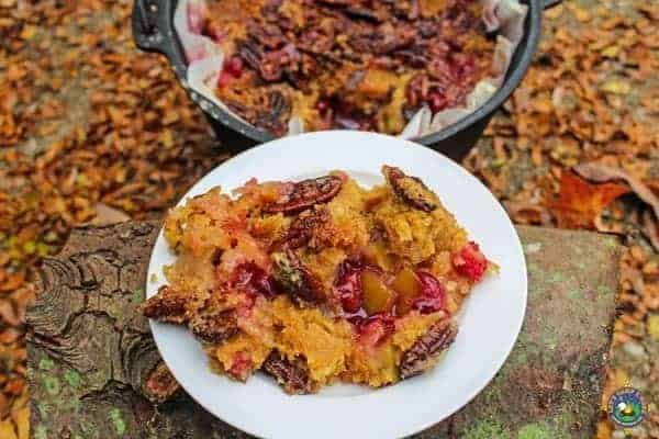 Cranberry Apple Dump Cake
