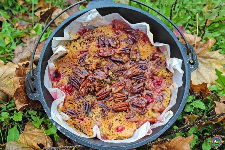 Recipes Camping Dutch Oven Dump Cake
