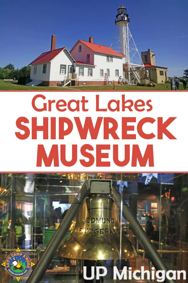 Great Lakes Shipwreck Museum in Michigan - Visit this great little museum in the Upper Peninsula of Michigan and see the bell from the shipwrecked Edmund Fitzgerald.