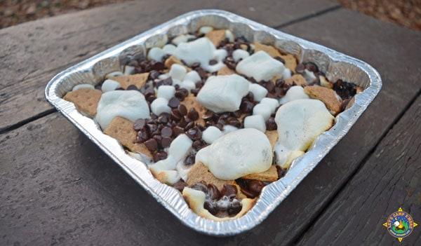 grilled smores nachos