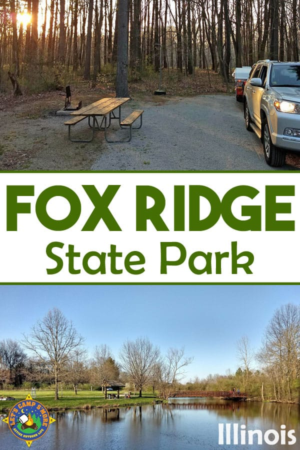 collage of Fox Ridge State Park