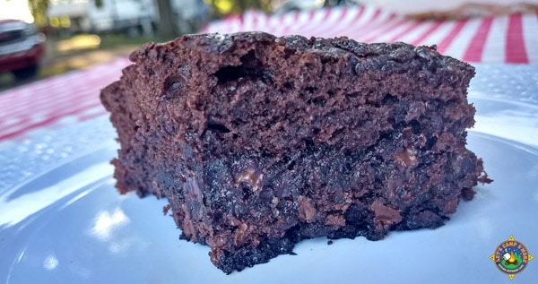 Dutch Oven Brownie