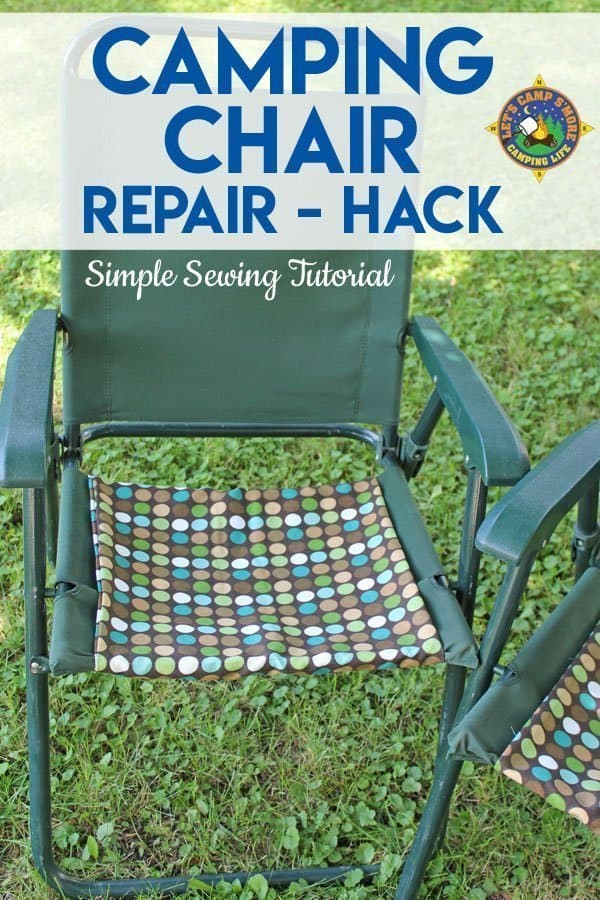 camping chair repair
