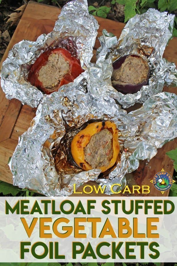 Meatloaf Stuffed Vegetables Camping Recipe