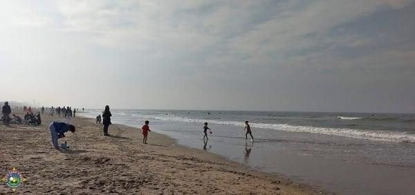 shore of the North Sea