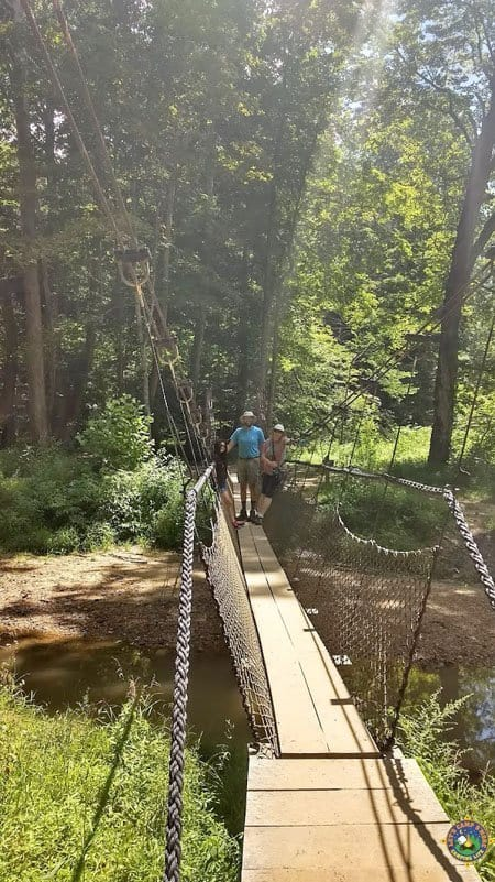 Suspension Bridge at Hocking Hills