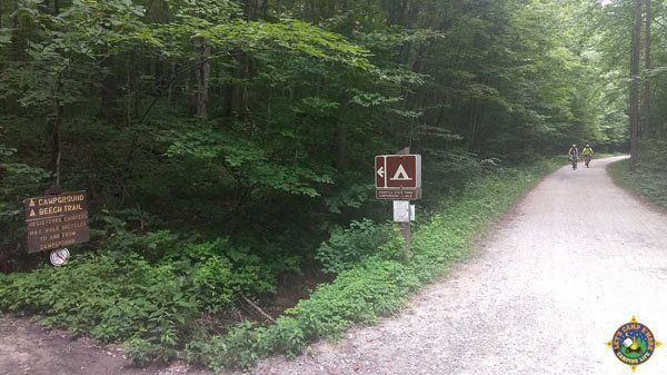 Ohiopyle Campground Trail off the GAP