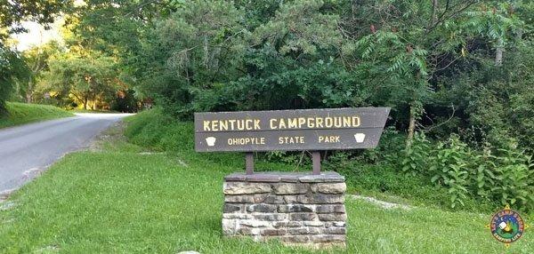 Ohiopyle State Park Kentuck Campground