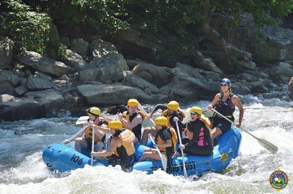 Lower Yough White water rafting Ohiopyle, PA