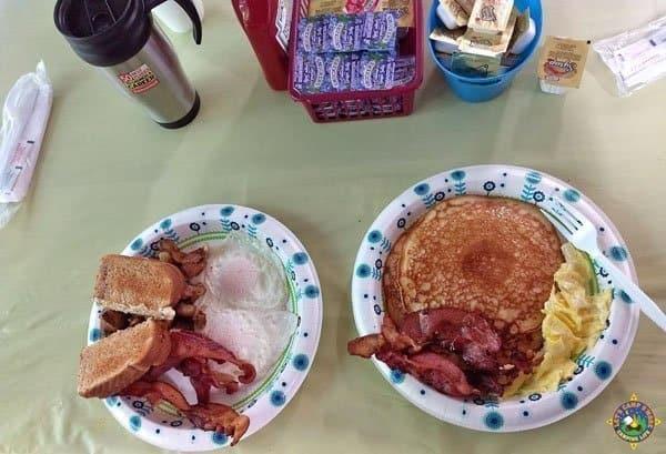 Breakfast at Tomlinson Run