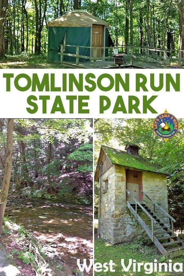 Tomlinson Run State Park in West Virginia