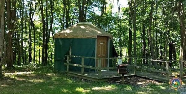 Tomlinson Run Yurt for Rent