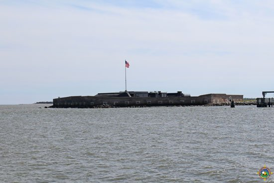 Boat to Fort Sumter