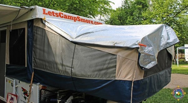 Diy Solar Bunkend Covers For Your Popup Or Hybrid Trailer