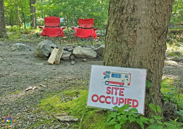 Motorhome Site Occupied Free Camping Printable