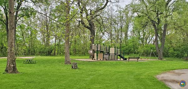 Kickapoo State Park Campground Playground