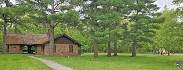 Midwest Camping Rally at the Kickapoo State Recreation Area Pavilion
