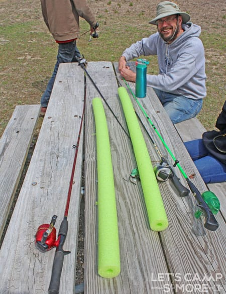 Fishing Pole Cover
