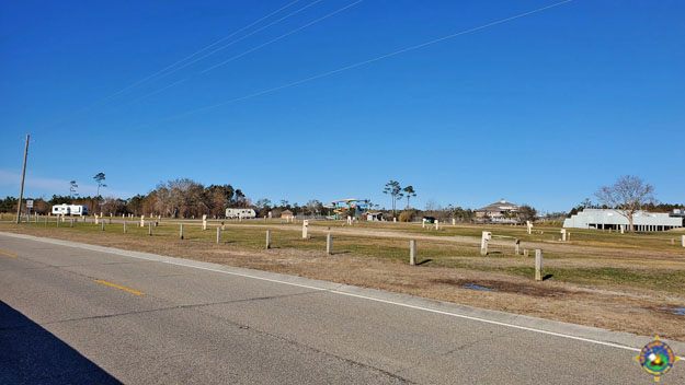 Gulf campsites at Buccaneer State Park