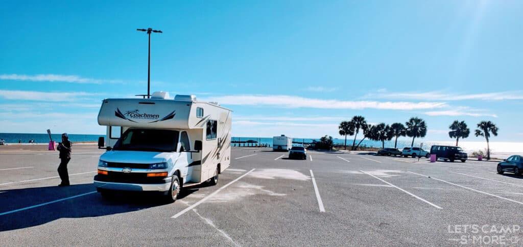 Gulf Coast RV Parking Lot