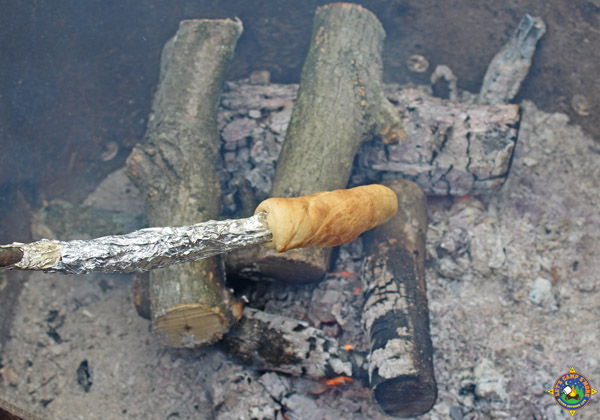 Biscuits Cooked over the Campfire