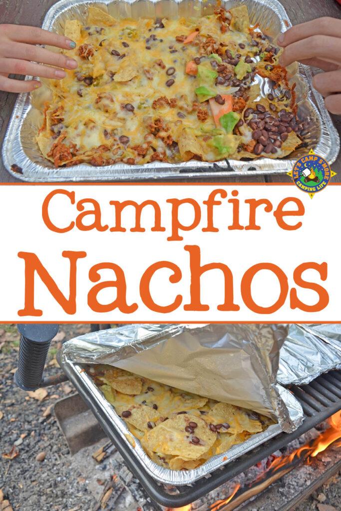 campfire grilled nachose