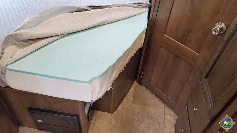 custom foam mattress for an RV